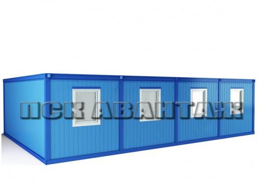 Модуль БМ-03 СП из четырех блок-контейнеров