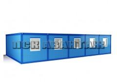 Модуль БМ-04 СП из пяти блок-контейнеров