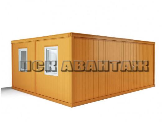 Модуль БМ-05 СП из двух блок-контейнеров с внутренней перегородкой