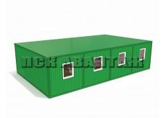 Модульная столовая МС-01 из четырех блок-контейнеров